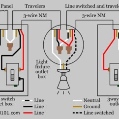 3 Way Electric Rose Flower Plant Diagram How To Wire A Three Switch Tutorial Lighting The Purpose Of Electrical