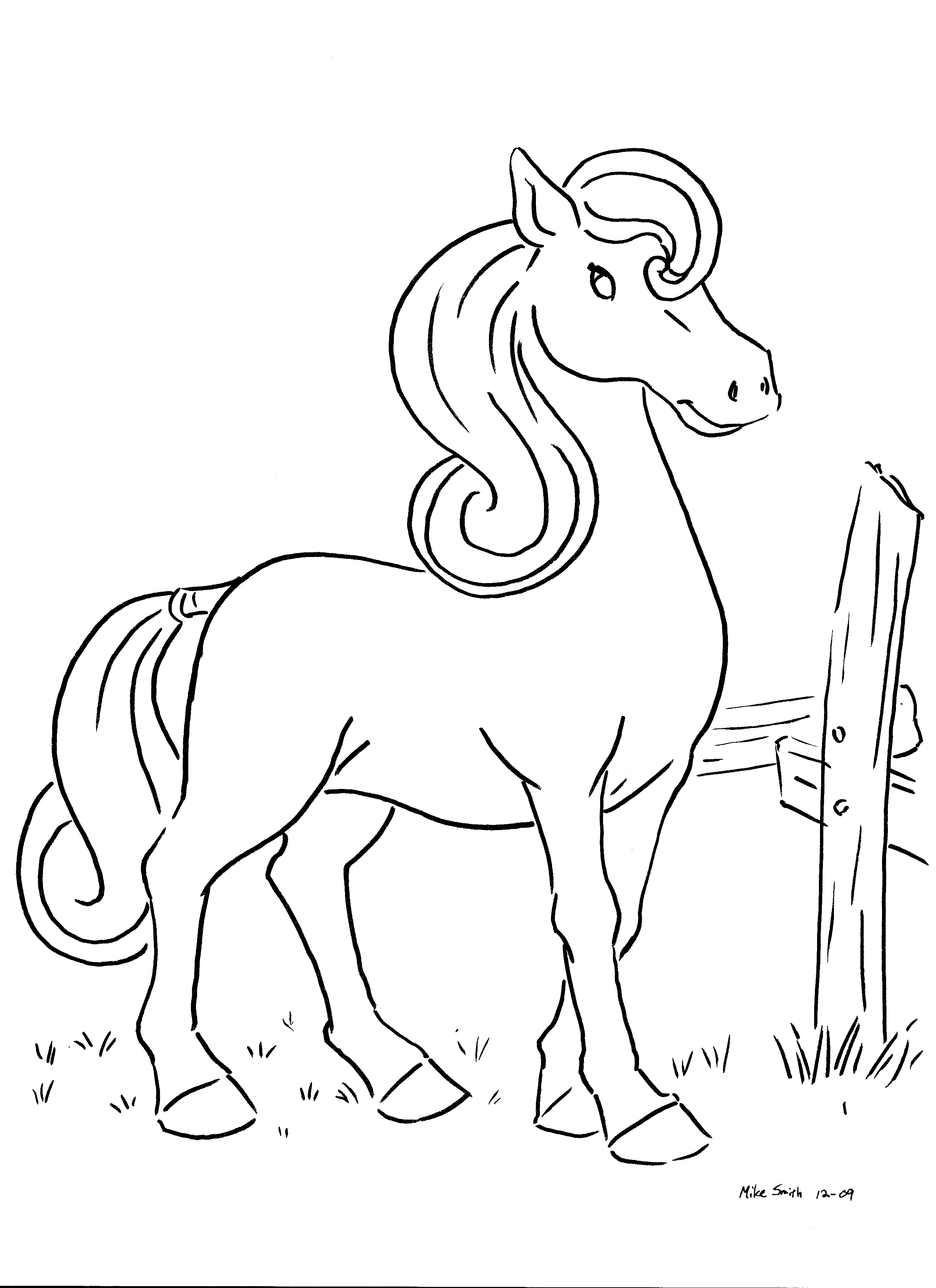 Coloring Book Pages « Elecorn ® : The Animated Coder