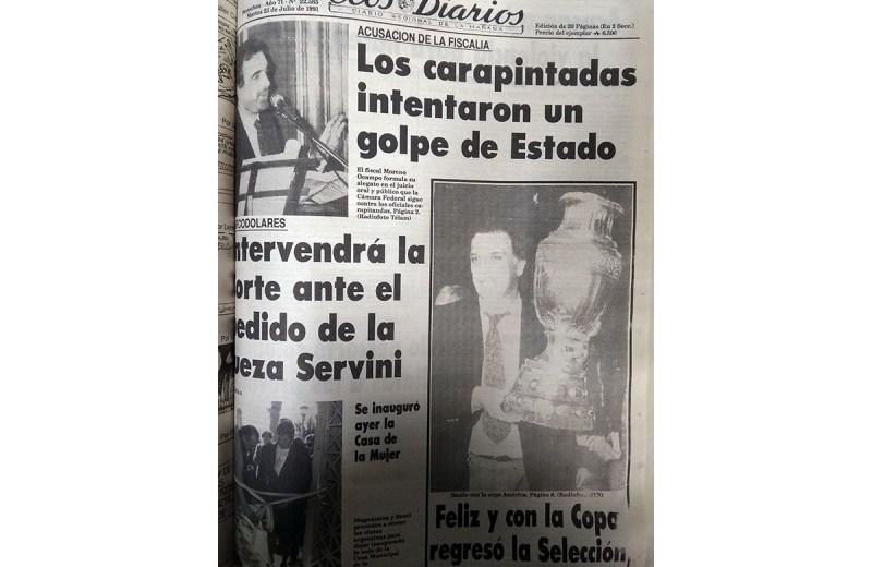 Martes 23 de julio de 1991