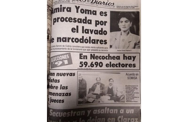 Jueves 25 de Julio de 1991