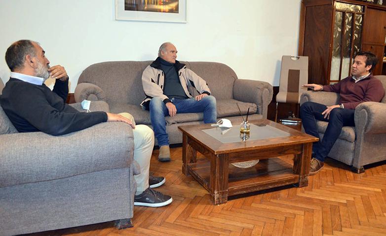 Rojas y Álvaro hablaron de obras en conjunto