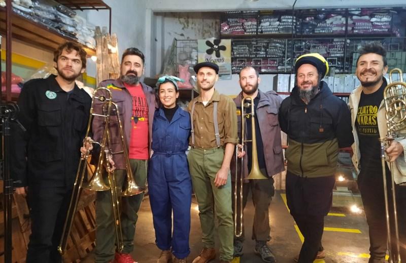 Con grandes invitados, Cuatro Varas lanzó nueva canción con espíritu necochense