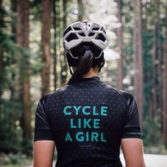 Cycle like a girl Quote