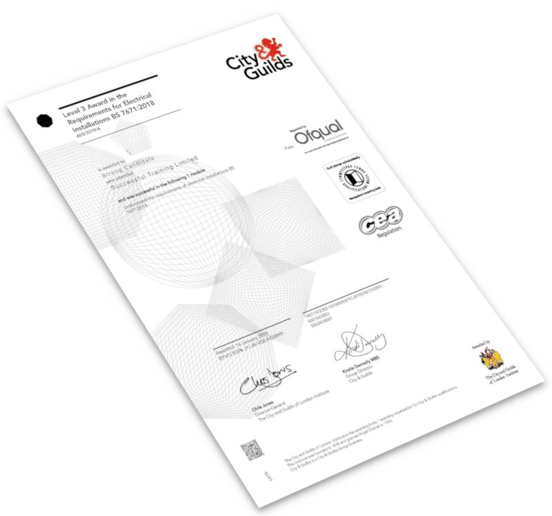 City & Guilds 18th Edition Exam