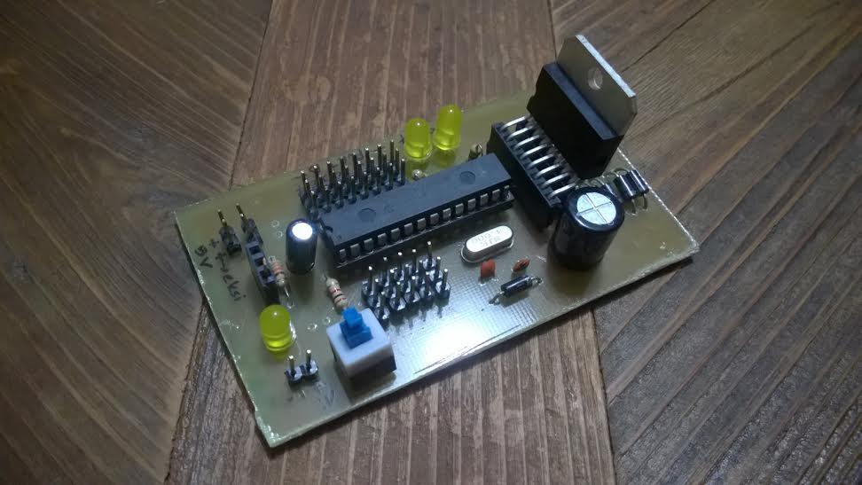 Microchip 16F873 Motor Driver L298N