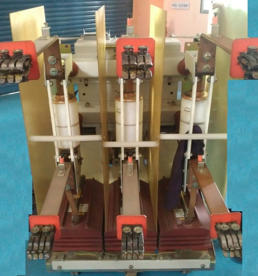 Vacuum Circuit Breaker Back Side View