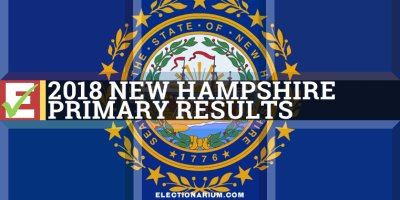 2018 New Hampshire Primary Results