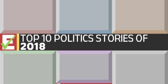 The Top 10 Political Stories of 2018