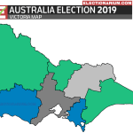 Australian Federal Election 2019 RESULTS - Victoria Map