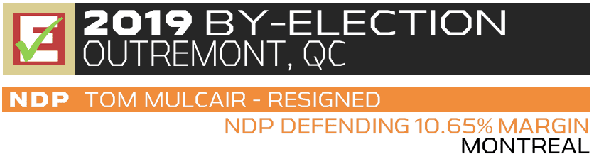 Outremont 2019 By-Election
