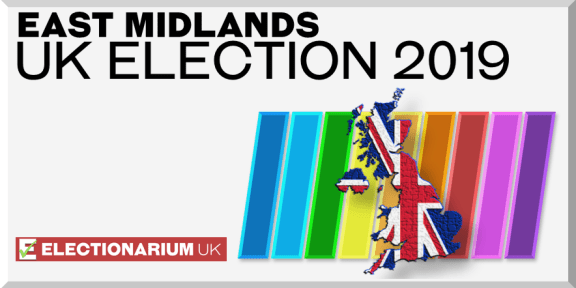 2019 British General Election - East Midlands