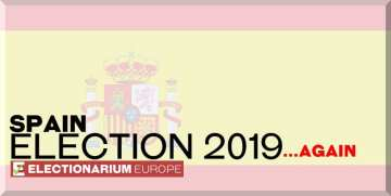 November 2019 Spanish General Election Results