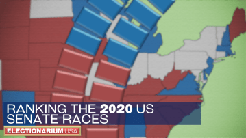 Ranking the 2020 Senate Races on Flip Chances