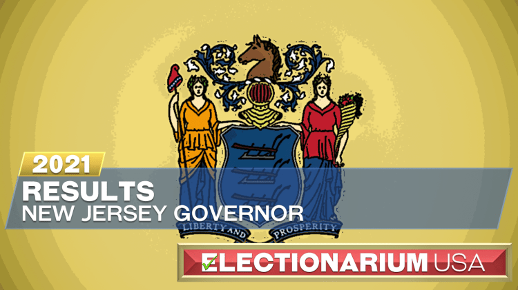 2021 New Jersey Governor Election Results