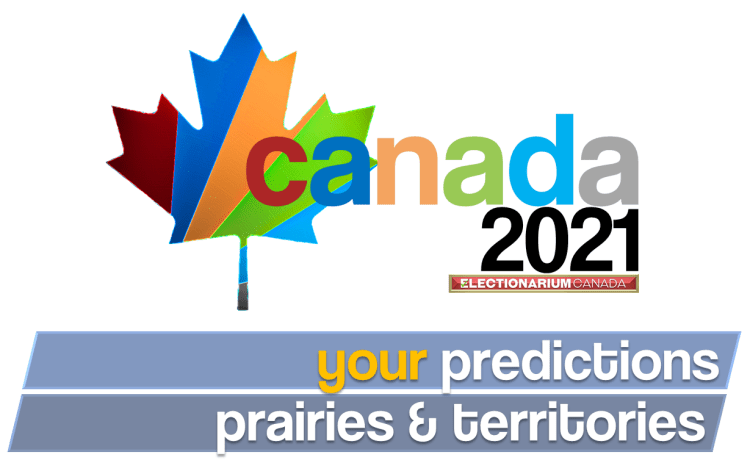 2021 Canadian Election - your predictions Prairies & Territories