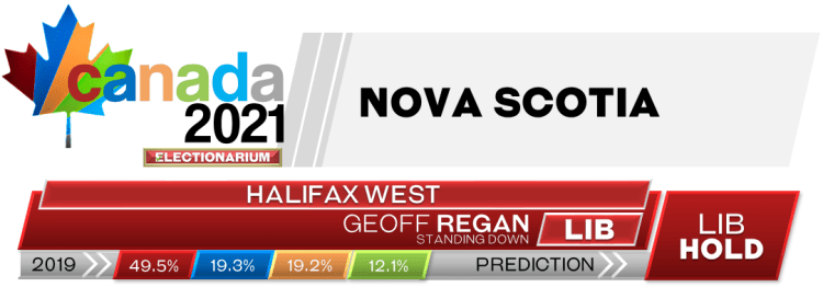 NS Halifax West prediction 2021 Canadian election