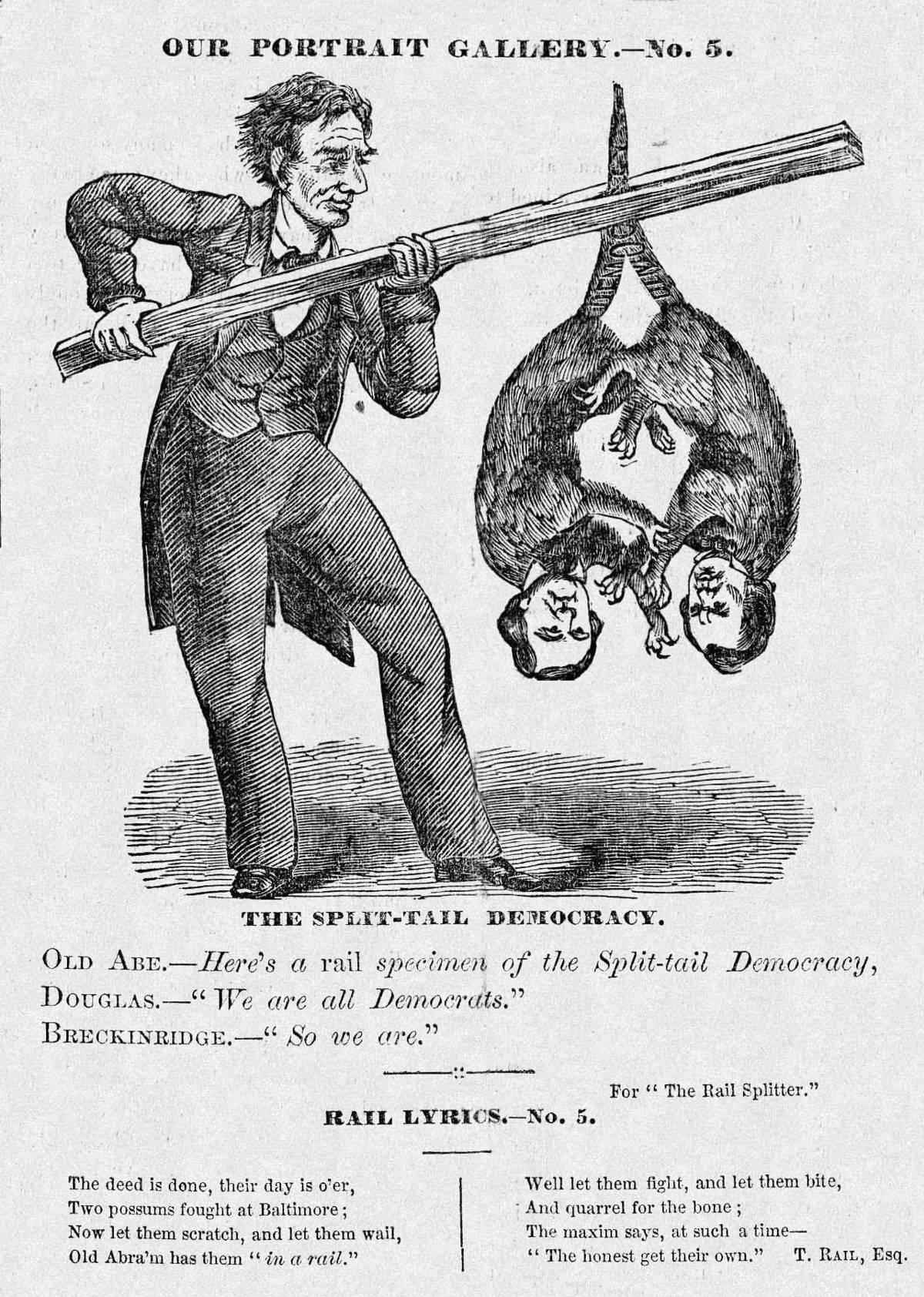 poisonesque: Abraham Lincoln Political Cartoons