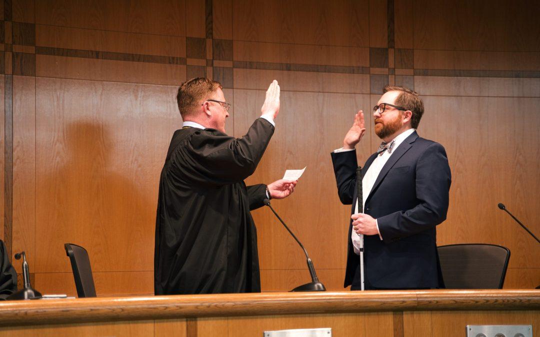 Judge Freeman Swearing In