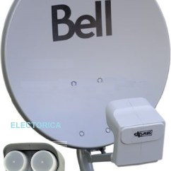 Bell Hd Satellite Wiring Diagram Of 3 Way Switch 20 Quot Original Dish 500 W Twin Dpp Lnb For
