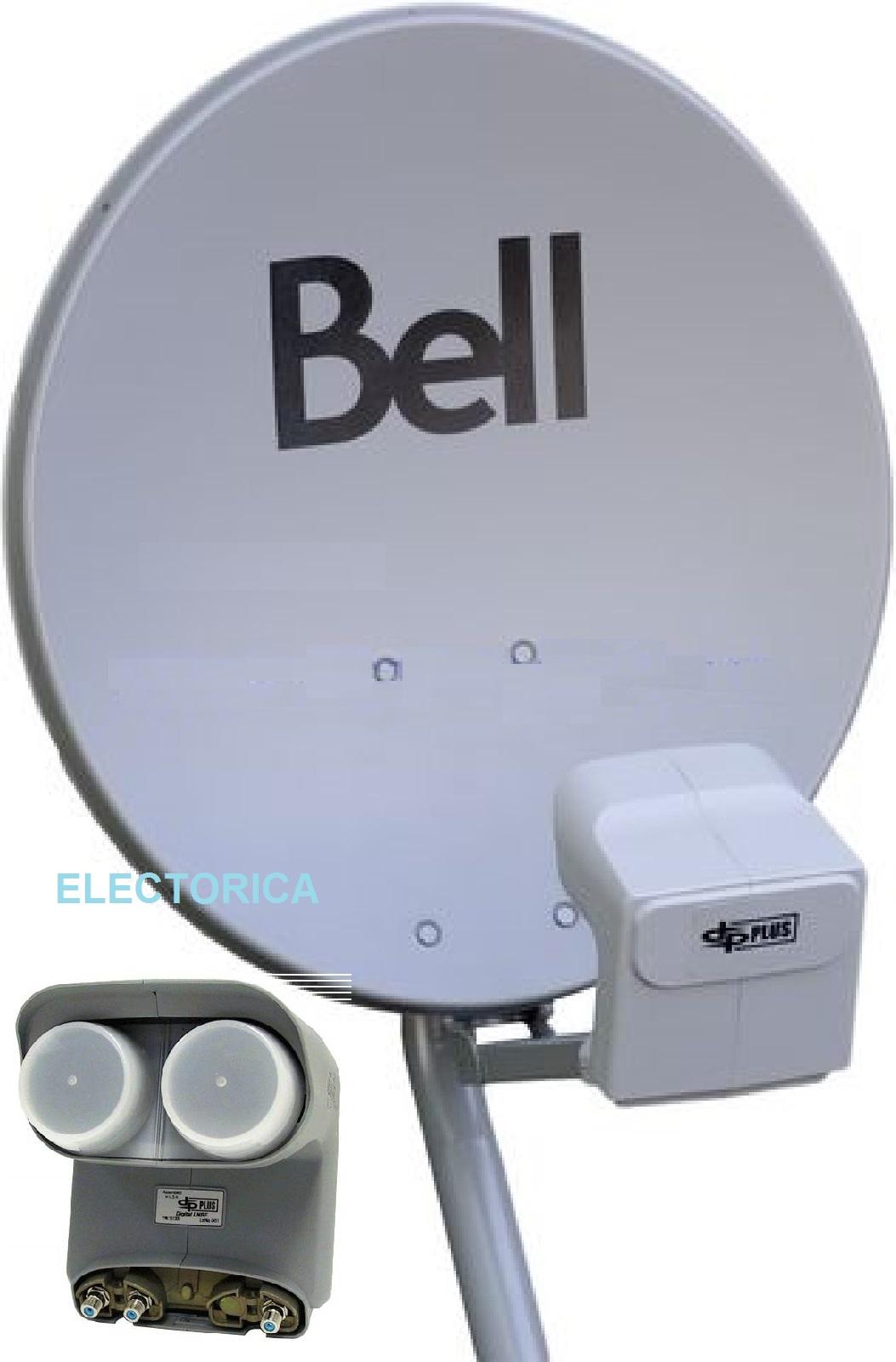 bell hd satellite dish wiring diagram 1999 s10 radio 20 quot original 500 w twin dpp lnb for