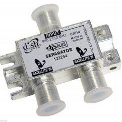 Bell Hd Satellite Wiring Diagram Mercruiser 4 3 Alternator 2 Dpp Separator Splitter Twin Express Vu 43dish Network