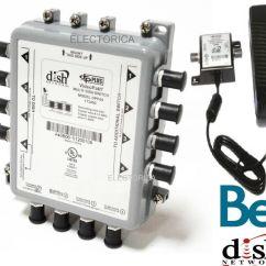 Bell Hd Satellite Dish Wiring Diagram Aem Wideband Dpp44 Express Vu Network Multi Switch Dp Lnb