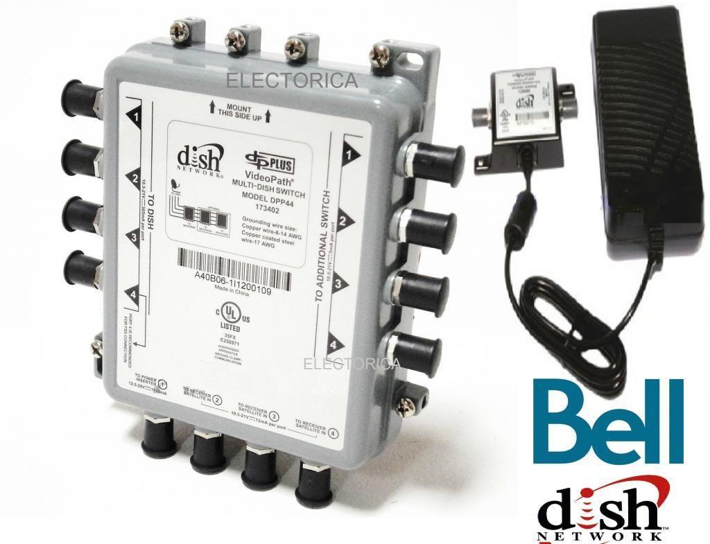 bell hd satellite wiring diagram 1985 chevy silverado dpp44 express vu dish network multi switch dp lnb