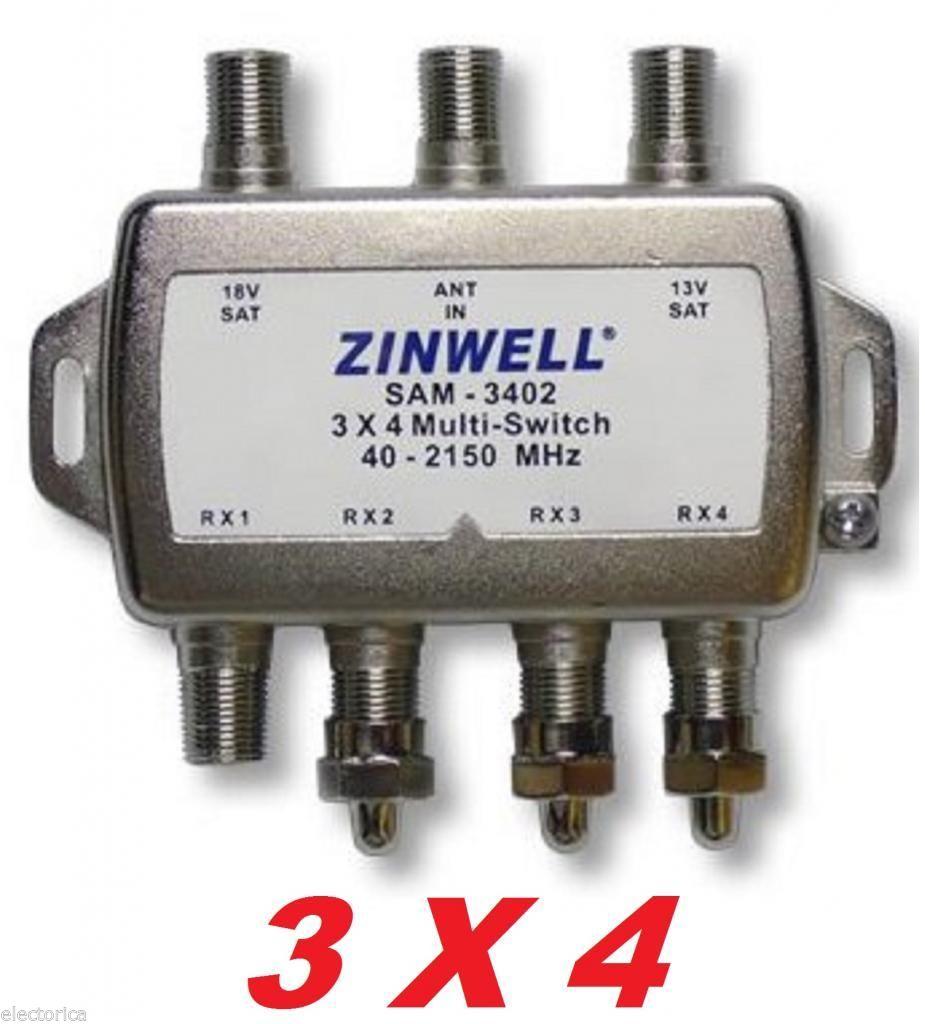 Wiring Diagram For Dish Network 3x4 Zinwell Switch Lnb Sw34 Directv 2x4 Bell Dish Network