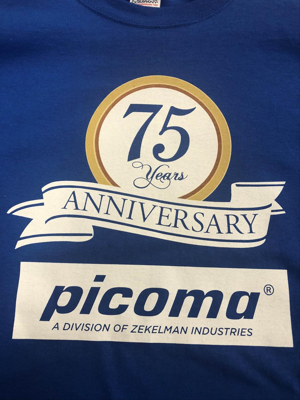 Picoma 75th anniversary