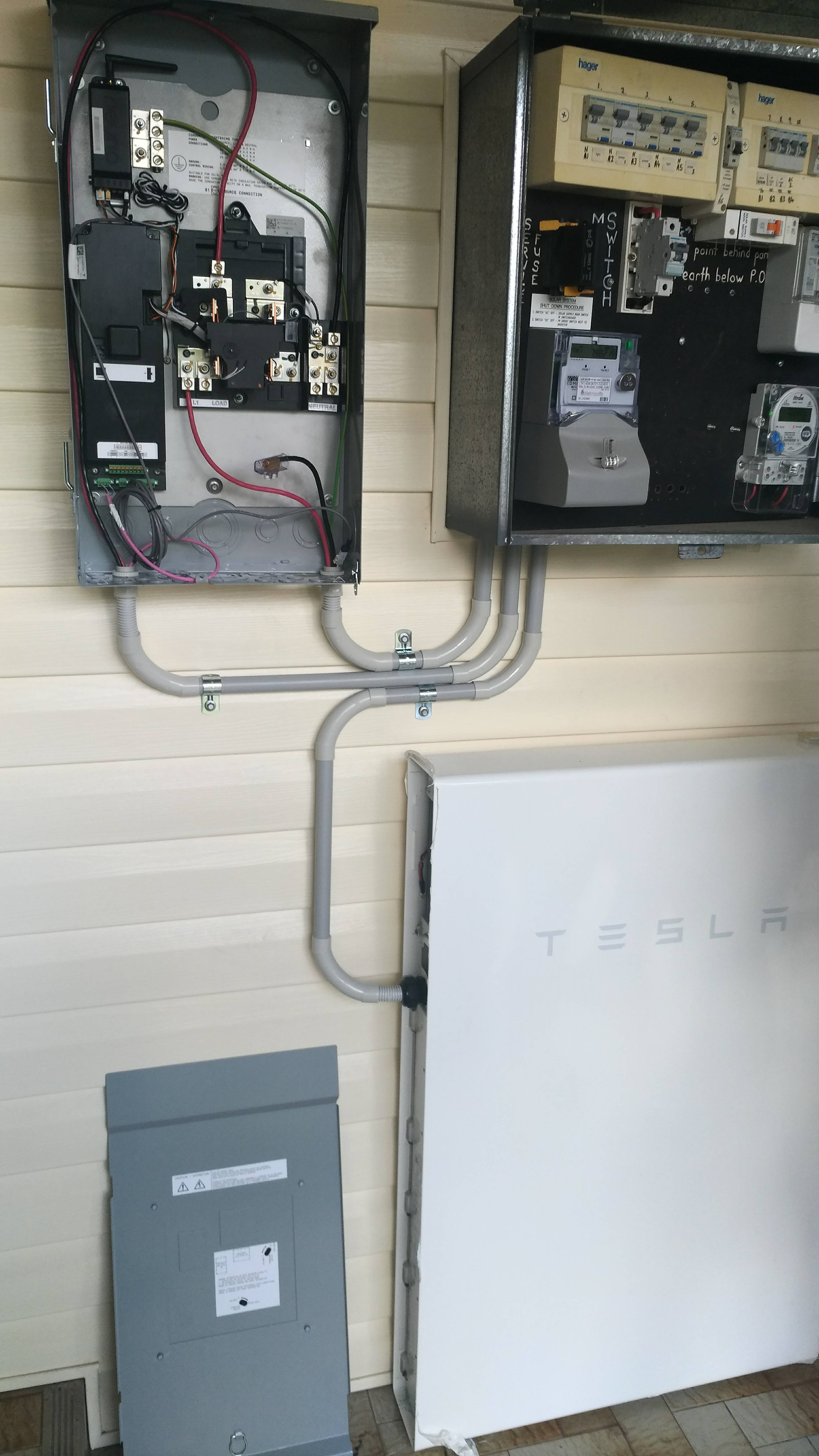 powerwall 2 wiring diagram baldor 3 phase motor tesla starts installations in australia electrek then it was s turned to activate the device