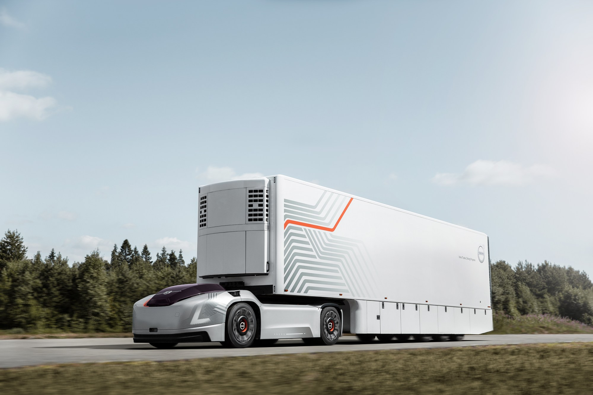 hight resolution of volvo trucks is now looking for companies interested in the concept and it wants to partner with them to develop transport solutions around the concept