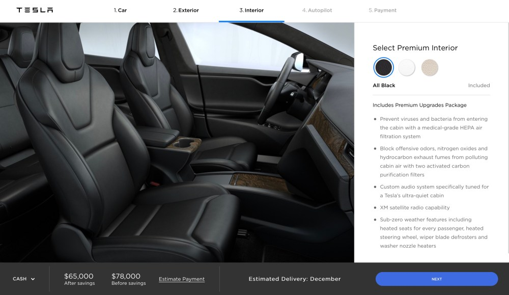 medium resolution of aside from the design the biggest change is arguably the fact that tesla is now also using the price after incentive and gas savings to differentiate