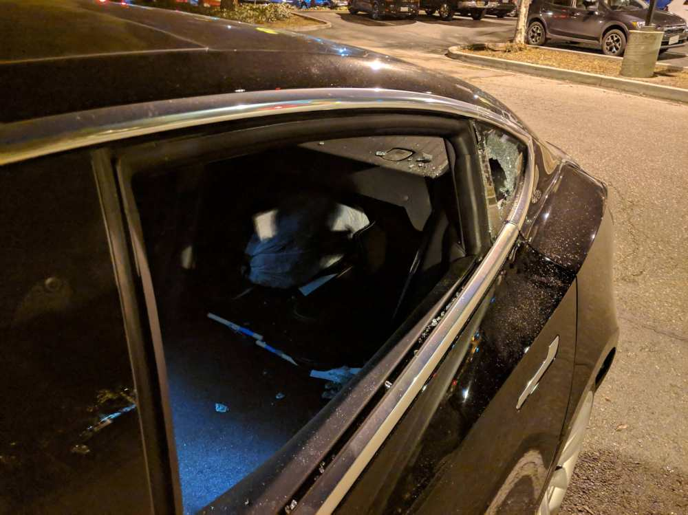 medium resolution of he said that the security guard at century cinemas parking lot where his model 3 was parked told him that it was increasingly common lately