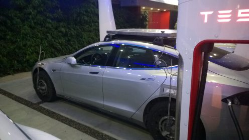 Tesla-test-vehicle
