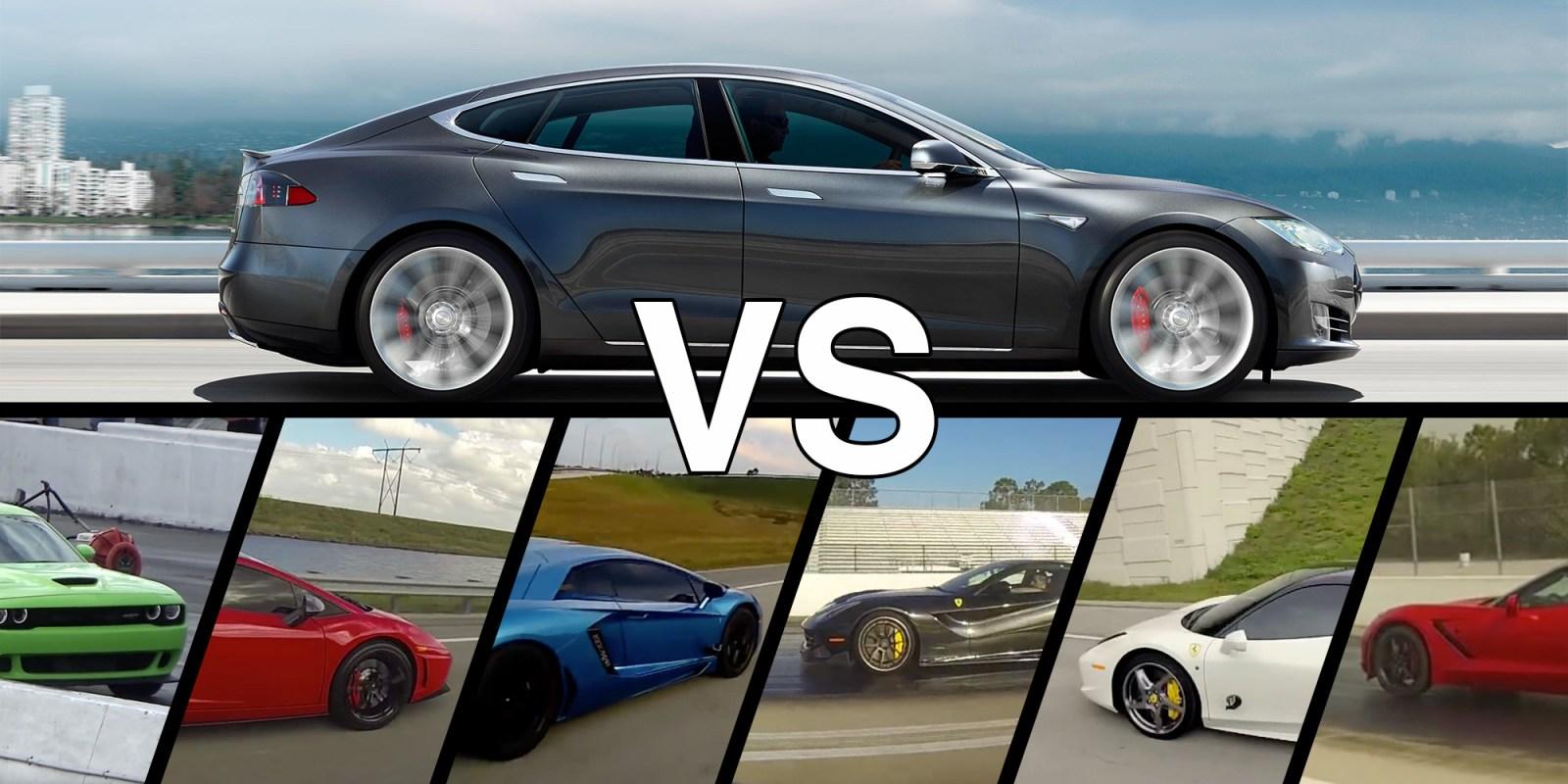 Super Post The Best Tesla Drag Races Electrek