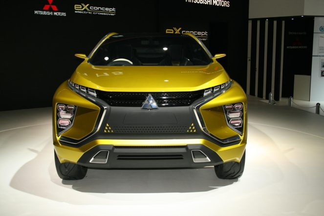 Mitsubishi Debuts Its 250 Miles All Electric Crossover Ex Concept