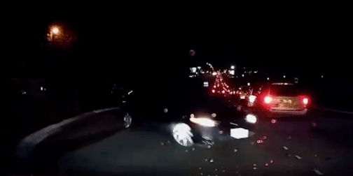 Tesla Autopilot w/driver assistance prevents a 45mph head-on collision [video] http://electrek.co/2015/10/28/tesla-autopilot-wdriver-assistance-prevents-a-45mph-head-on-collision-video/
