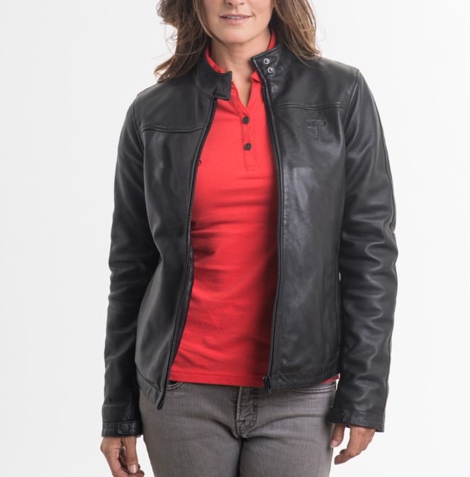 Women's Modena Leather Jacket 2