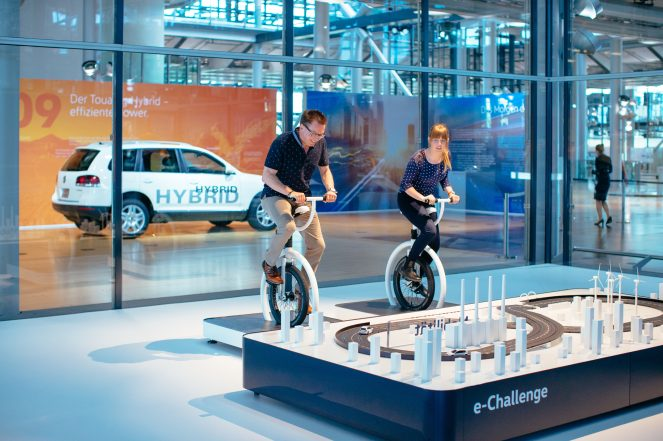 VW's showcase for electric mobility and digitalisation