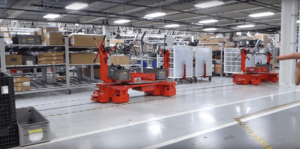Tesla Fremont factory 6