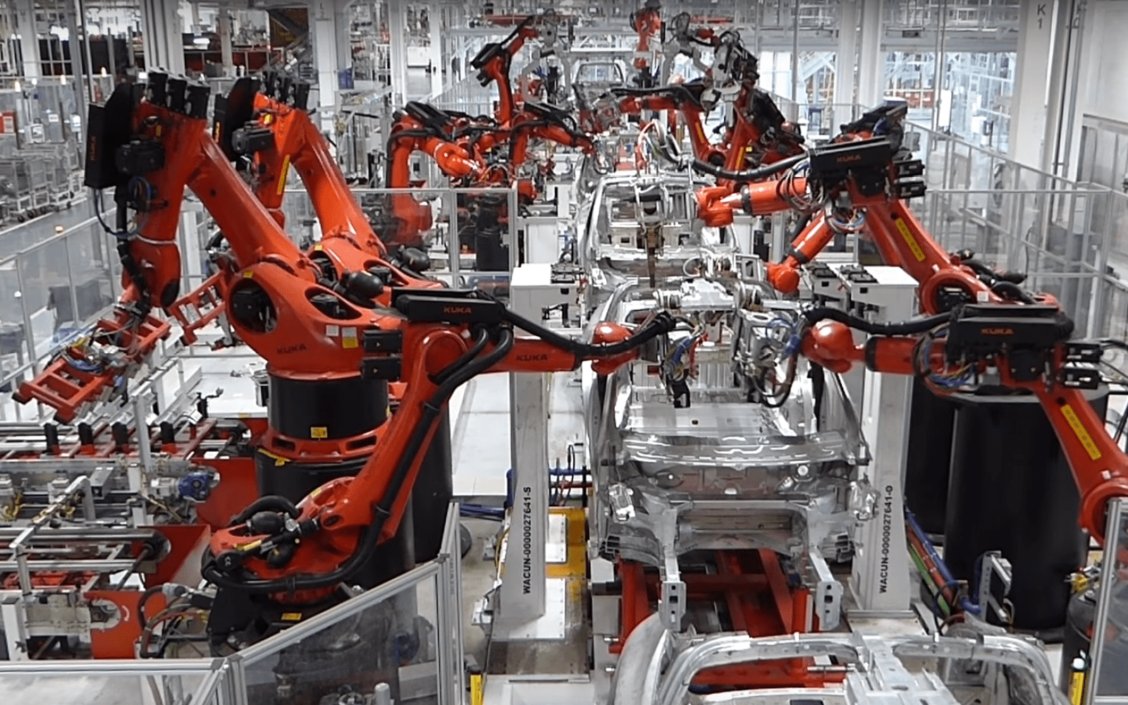 Tesla S New Advanced Automation Group Will Drop All