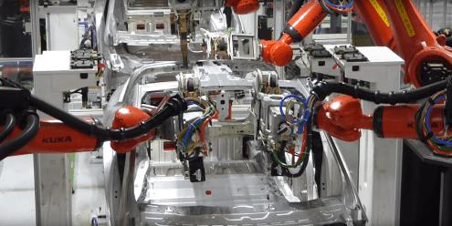 Tesla Fremont factory 8