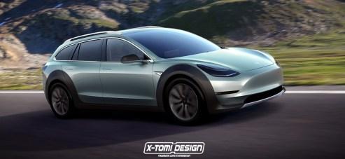 Tesla Model 3 Crosswagon Prototype2