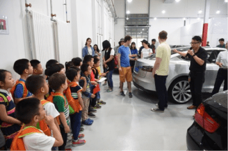 tesla open day china 2