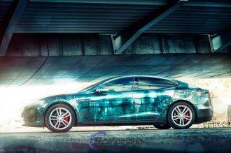 zombie Tesla Model S 8