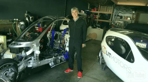 Larry Page at Lit Motors