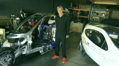 Larry Page at Lit Motors