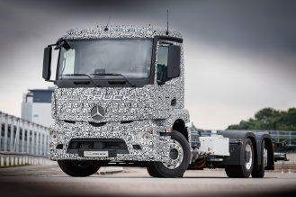 Mercedes-Benz Trucks; Urban eTruck; Elektro-Lkw; Weltpremiere; Elektromobilität; modulares Batteriekonzept; Verteilerverkehr
