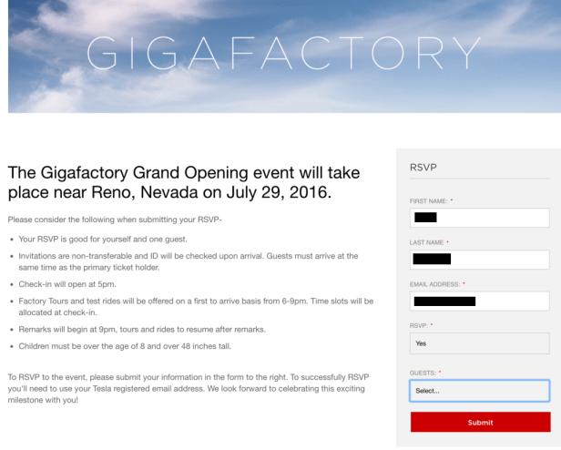 gigafactory invite 2