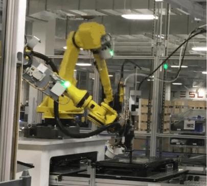 Tesla Gigafactory robot 14